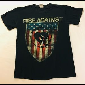 Rise Against band T size small bundle me cheap